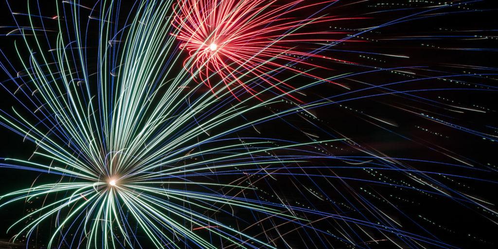 Boomer Lake Fireworks 2012